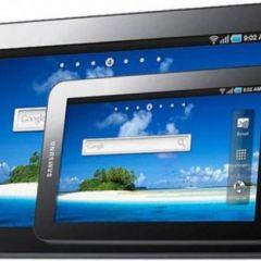 Первый планшет на базе Android 4.0 выпущен компанией Samsung