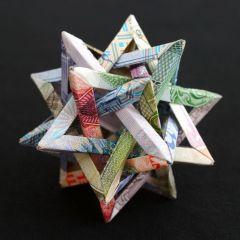 Фигуры из денег