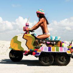 Новое направление в искусстве – yarnbombing