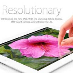 новинка:  iPad 3