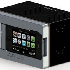Автомагнитола с интерфейсом для подключения iPhone/iPod