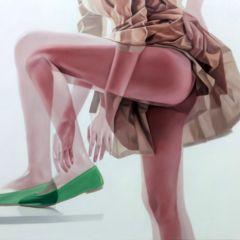 Женщины на картинах Ho Ryon Lee
