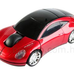 Компьютерная мышь в форме автомобиля