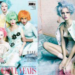 Карамельный выпуск журнала W Korea