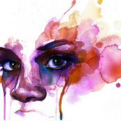 Акварельная живопись Marion Bolognesi