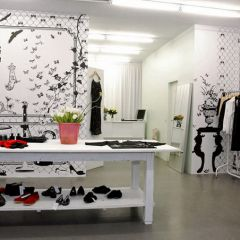 Интересное решение для бутика в Берлине