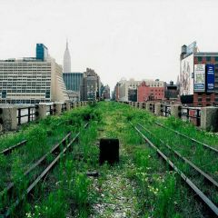 Нью-Йоркский парк на рельсах