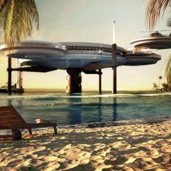 Отель в океане