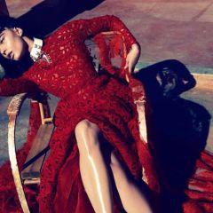Crystal Renn в японском Vogue