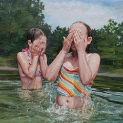 Дети в картинах Лауры Сандерс