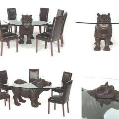 Мебель с бегемотами