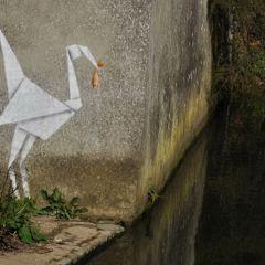 Мятежные граффити молодого отца