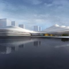 Спортивный центр в Китае