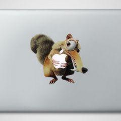Креативные наклейки для Macbook