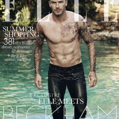 Знаменитый футболист в модном журнале