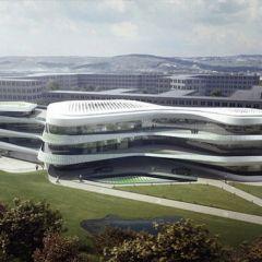 Проект штаб-квартиры Фонда Зеленого Климата