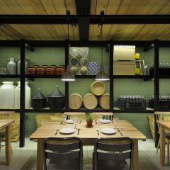 Интерьер греческого ресторана