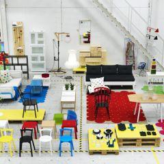 Новая серия товаров в IKEA