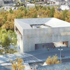 Интересное решение для здания суда