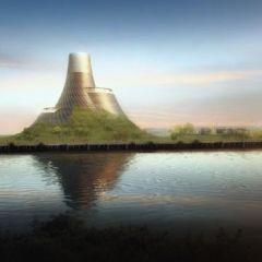 Проект необычной электростанции