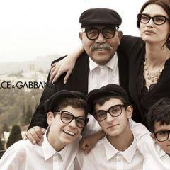 Бьянка Балти в рекламе очков от Dolce & Gabbana