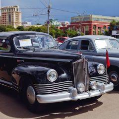 Выставка раритетных автомобилей в Москве