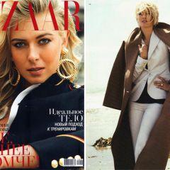 Российская спортсменка на обложке Harper's Bazaar