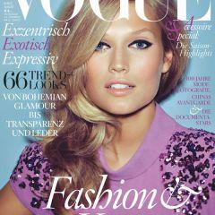 Немецкая красавица на обложке Vogue