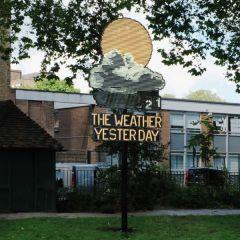 Арт-объект «Вчерашняя погода»