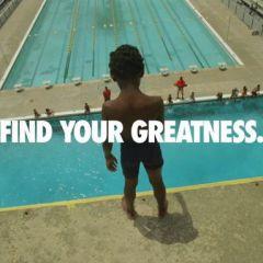 Рекламный ролик к Олимпиаде от Nike