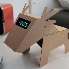Многофункциональные животные из картона