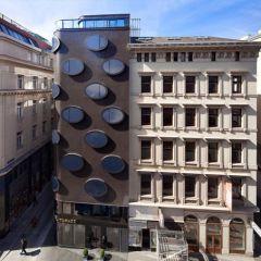 Футуристический отель в Вене