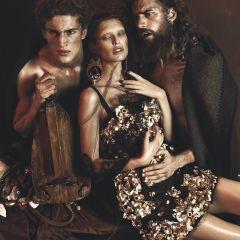Необычная фотосессия Dolce & Gabbana