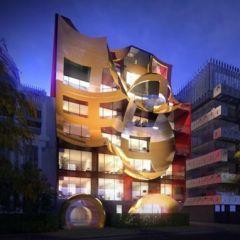 Необычный концепт дома в Австралии