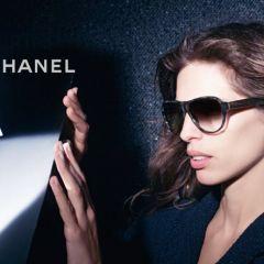 Француженка Майвенн рекламирует очки от Chanel