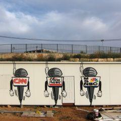 Работы талантливого уличного художника