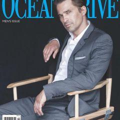 Французский актер в мужском  журнале