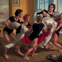 Реалистичные картины американского художника