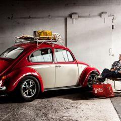 Стильный календарь с ретро автомобилями