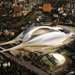 Проект нового национального стадиона в Японии