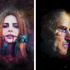 Портреты знаменитостей от Richard Davies