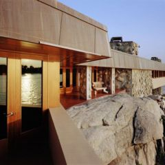 Новую виллу в придачу с островом представил Frank Lloyd Wright