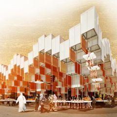 Проект новейшего рынка в Касабланке