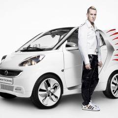 Новый облик для Smart от Jeremy Scott