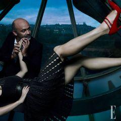 Лучшие модельеры в фотосессии журнала Elle US