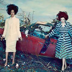 Фотосессия Steven Klein для Vogue US
