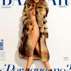 Обложка Harper's Bazaar Spain January 2013