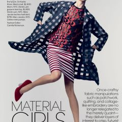 """Фотосессия """"Material Girls"""" в американской версии журнала Vogue"""