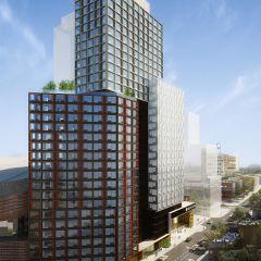 Проект жилого комплекса B2 в Нью-Йорке