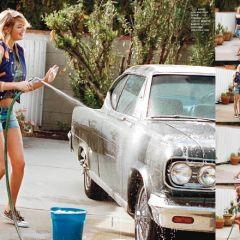 Фото Kate Upton в номере Elle France